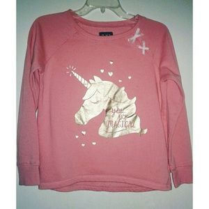 GIRL'S Unicorn sweatshirt